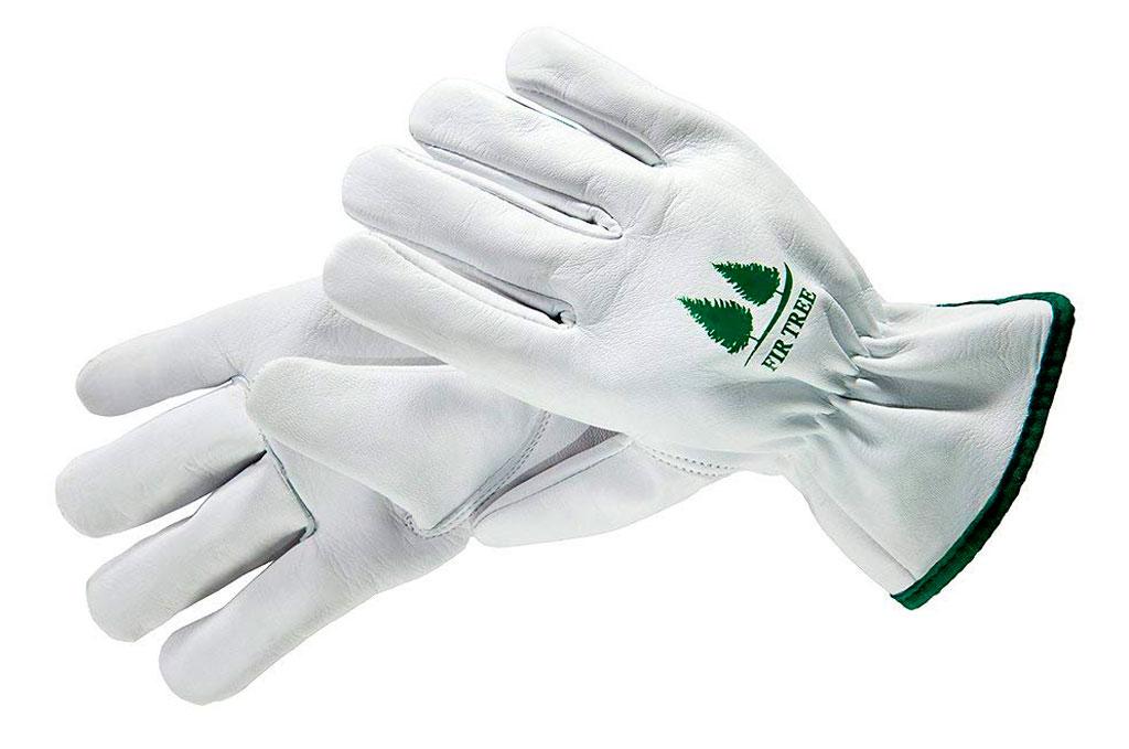 Fir Tree Leather claw Gardening Gloves