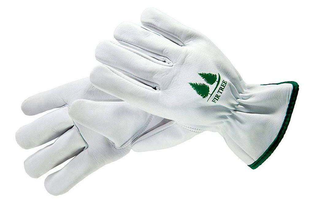 Fir Tree Leather claw Gardening Gloves