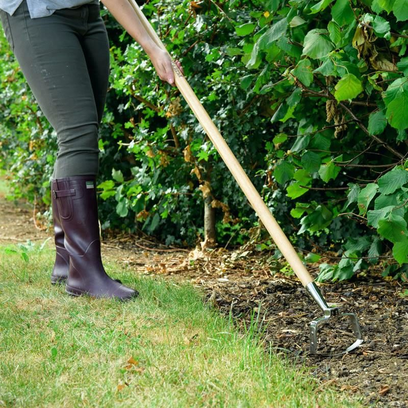 hoe gardening tool